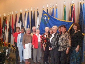 Women's Military Memorial Dedication 4-08-Group Shot