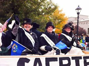 2014 Nevada Day Parade Honoring Women's Suffrage - Christianne Hamel, Nell Fozard, Marcia Cuccaro