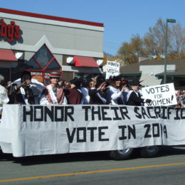 Nevada Day Parade 2013 – Honor Their Sacrifice – Vote!