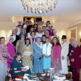 Group Photo – Pink Tea 2012