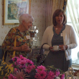 MarGee Richardson and Wendy Ritter – Pink Tea 2015