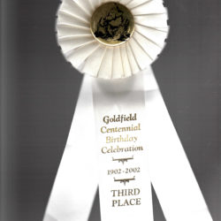 2002 Goldfield Centennial Celebration -3rd Place