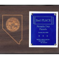 2002 Nevada Day Parade – 2nd Place