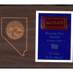 2003 Nevada Day Parade – 2nd Place