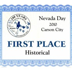 2010 Nevada Day Parade – 1st Place