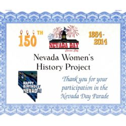 2014 Nevada Day Parade