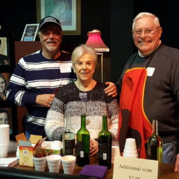 Dave Carbon, Nell Fozard and Charlie Noneman – Event Bartenders