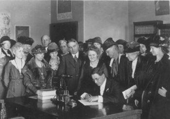100th Anniversary of Nevada's vote to ratify the 19th Amendment