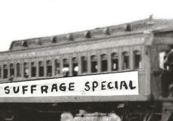 "All Aboard the ""Suffrage Special,"" Riding the Rails on the V&T"